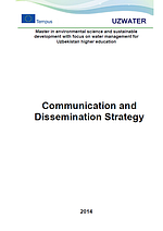 Uzwater: Communication and Dissemination Strategy