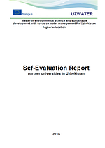 Uzwater: Self-Evaluation Report