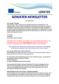 Uzwater Newsletter, 15 January 2014