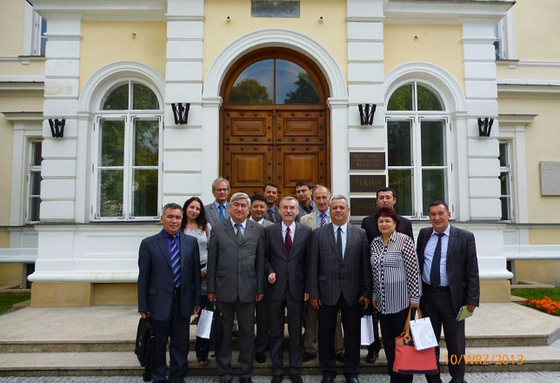 Uzwater group in Warsaw