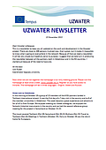 Uzwater Newsletter no. 1.