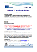Uzwater Newsletter no. 4 - February 2014