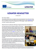 Uzwater Newsletter January 2015 (in English)