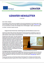 Uzwater Newsletter June 2015 (in English)