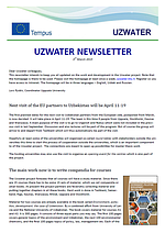 Uzwater Newsletter March 2015 (in English)