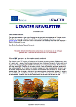 Uzwater Newsletter October 2014 (in English)