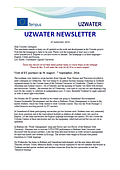 Uzwater Newsletter September 2014